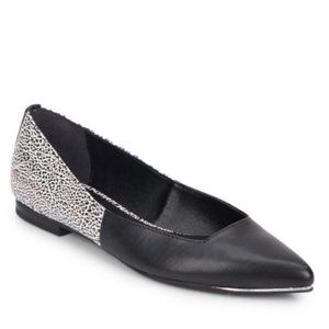CIRCUS BY SAM EDELMAN Ellissa Black White Flats